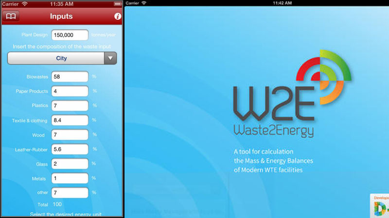 Waste to Energy App Image